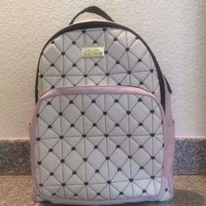 Betsey Johnson Leather Backpack/Brand new